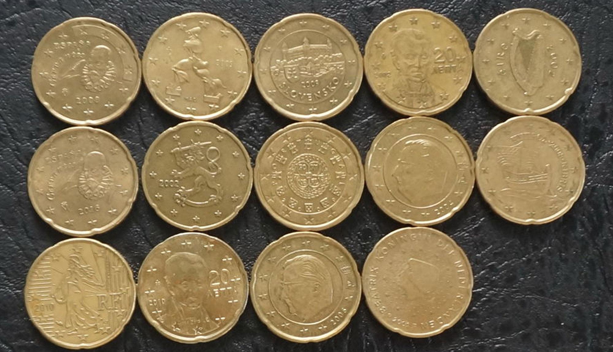 Что делать с евро монетами в Украине?